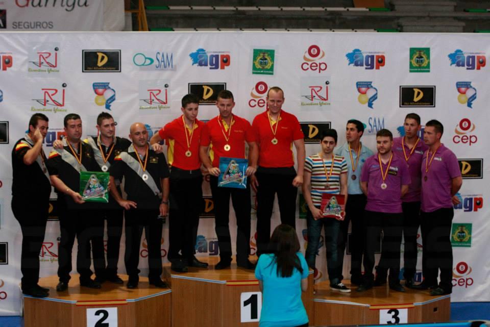 Campeones Equipos 1º División