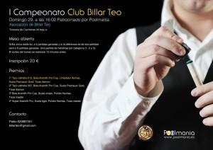 Campeonato Club de Billar Teo