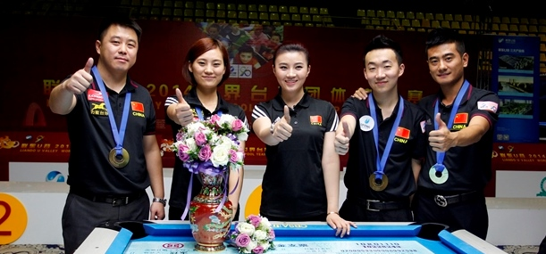 China 2 World Teams Champions 2014