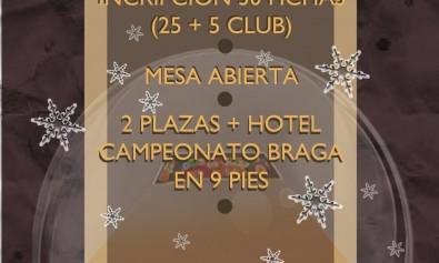 II Torneo de Navidad Club de Billar Teo