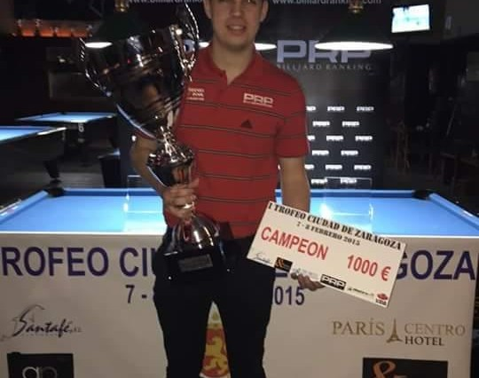 Fran Sanchez Campeon I Open Zaragoza