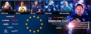 mosconi cup - european team
